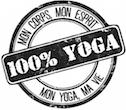 Logo 100% Yoga