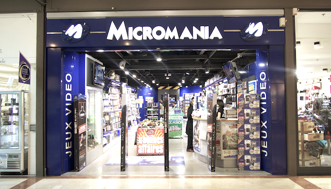Micromania Grand Maine Angers