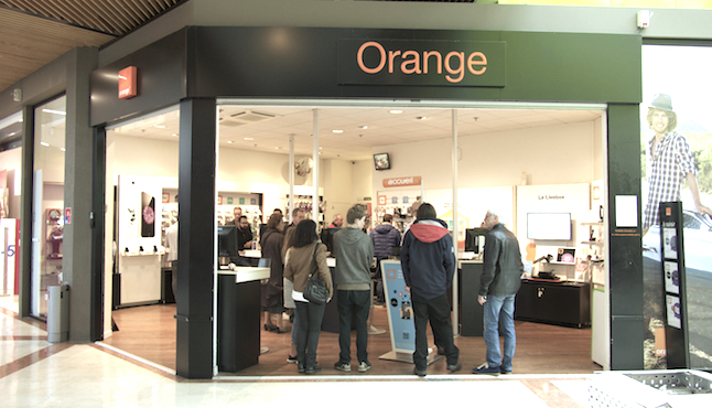 Boutique Orange Grand Maine Angers