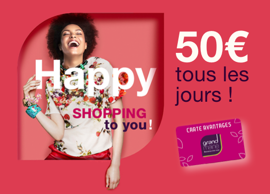Happy Shopping to You à Grand Maine Angers
