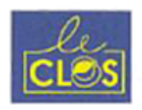 Logo Bar Brasserie Le Clos Grand Maine Angers