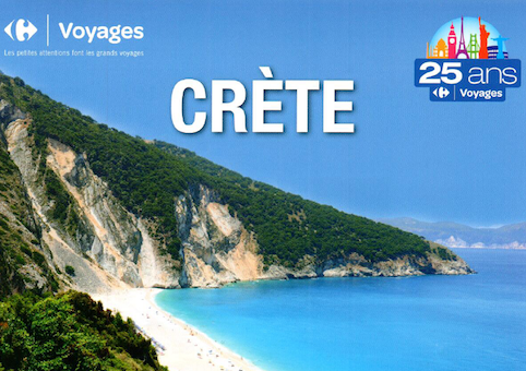 Offre Voyage Crete Carrefour Voyages Grand Maine Angers