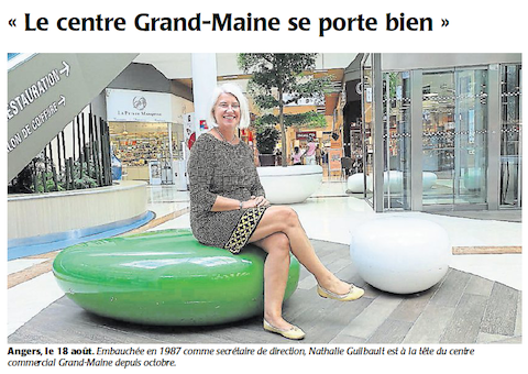 Article Grand Maine Courrier Ouest 24 aout 2016