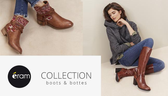 Actu Eram sélection boots & bottes novembre 2016