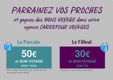 Parrainage Carrefour Voyages Grand Maine