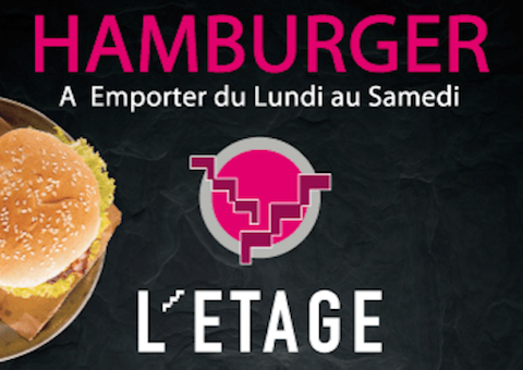 Hamburger a emporter L'Etage Grand Maine Angers
