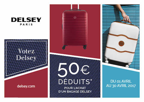 Offre Delsey escarcelle Angers Grand Maine