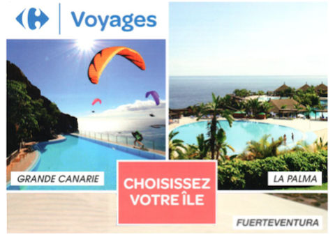Offre Canaries Carrefour Voyages Angers Grand Maine