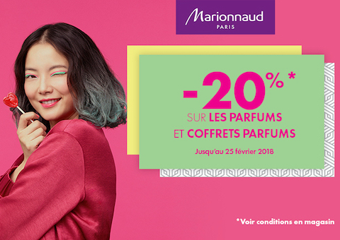 offre parfum marionnaud grand Maine angers