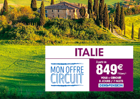 Circuit Italie Carrefour Voyages