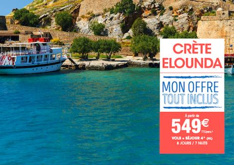 Crete Elounda Carrefour Voyages Grand Maine